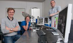Исследования материала с помощью сканирующего электронного микроскопа