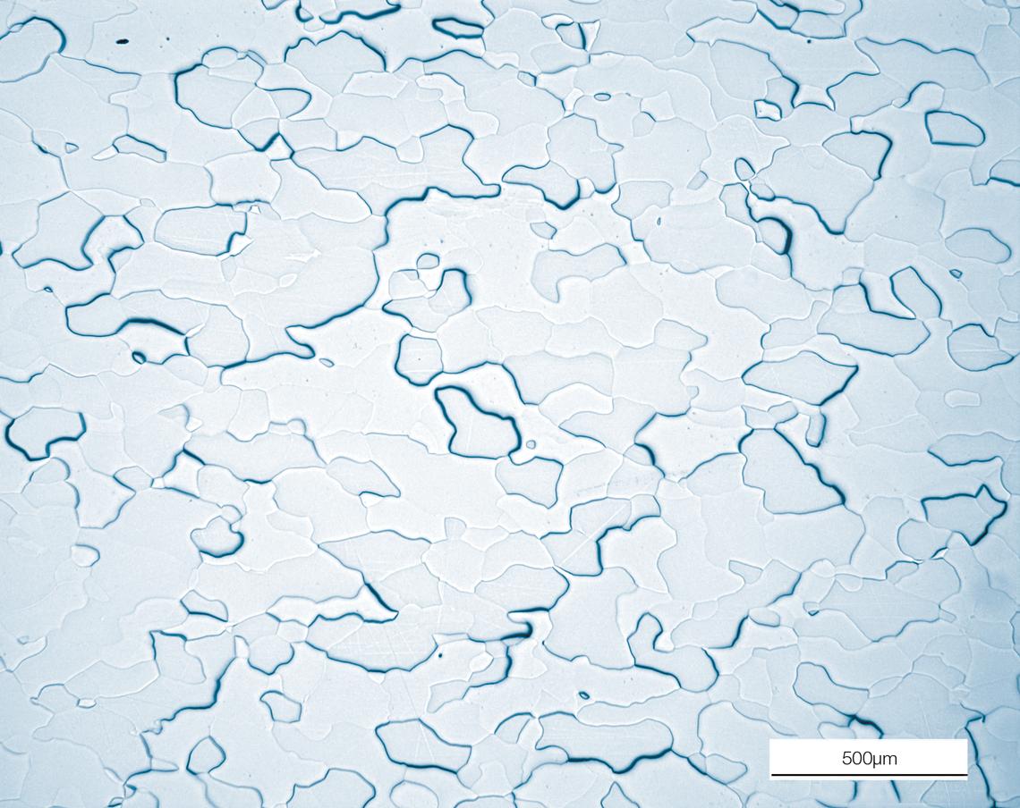 铬溅射靶的微观结构