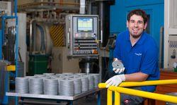 Produktion von Interkonnektoren für Brennstoffzellen
