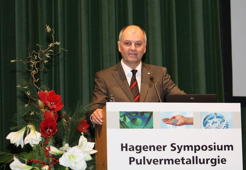 Skaupy prize for Dr Lorenz Sigl 2012