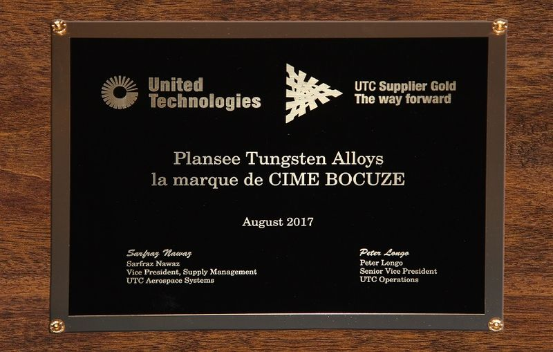 UTC Gold Supplier Award