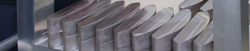 Tungsten heavy alloys balancing weights