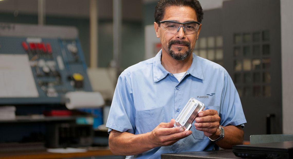 Piezas de repuesto para implantador iónico