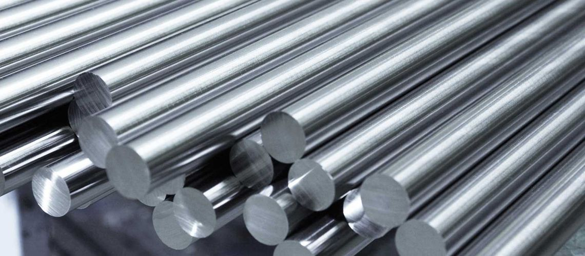 Rods made of molybdenum and tungsten