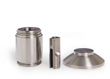 Shieldings made of tungsten alloys fo rmedical applications