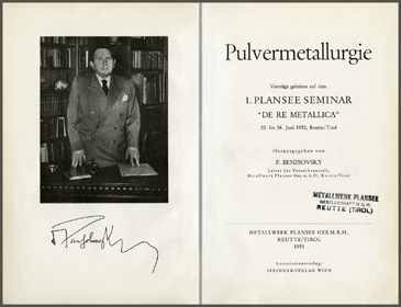 Documentation on the first Plansee Seminar