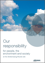 Plansee sustainability report