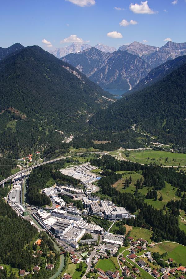 Plansee in Reutte / Österreich