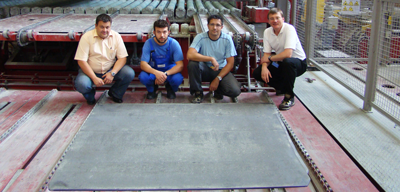 World record TZM plate from Plansee