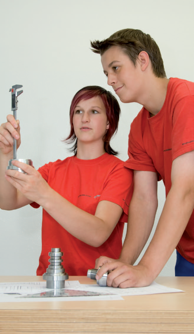 apprentices at Plansee