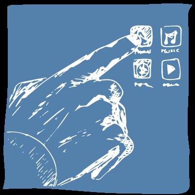 ImageMenu: Sputtering targets for touch panels